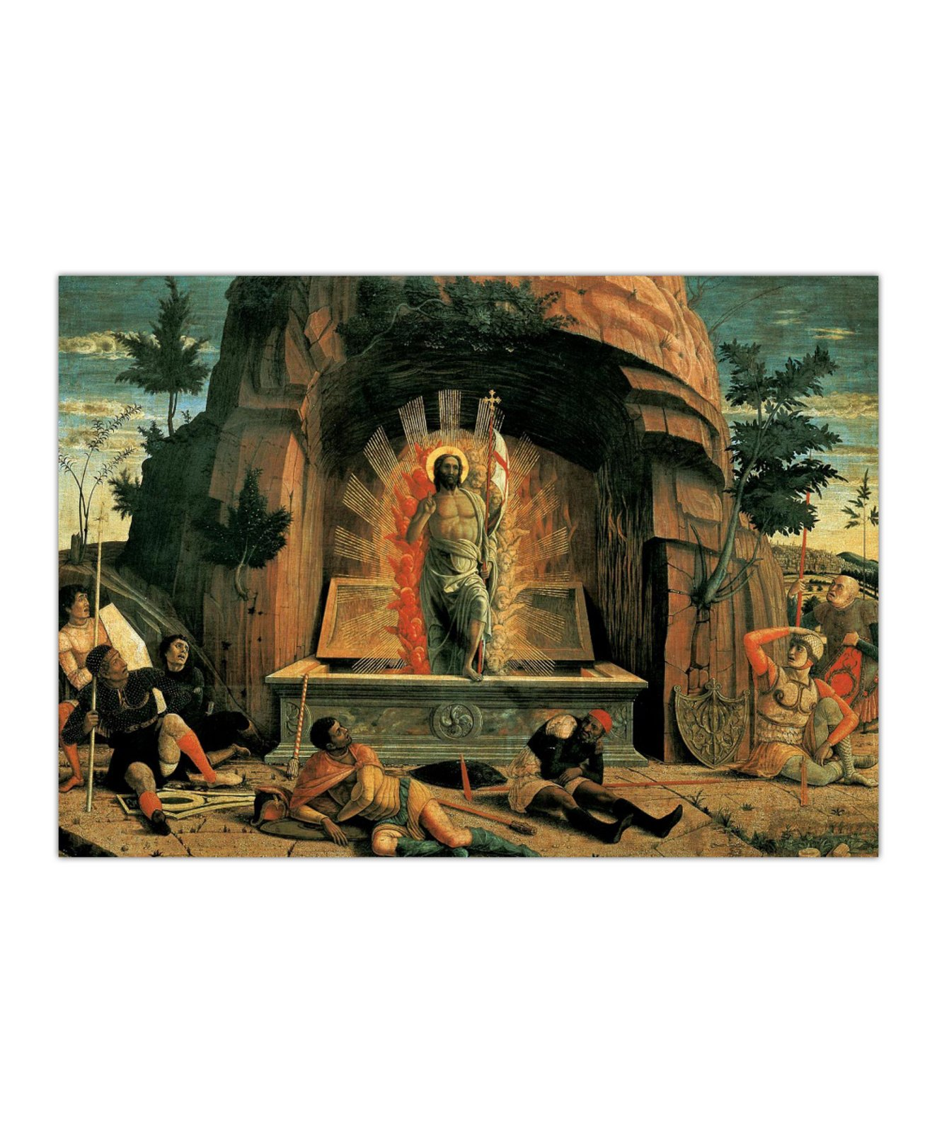 Andrea Mantegna, Zmartwychwstanie, 1459 2