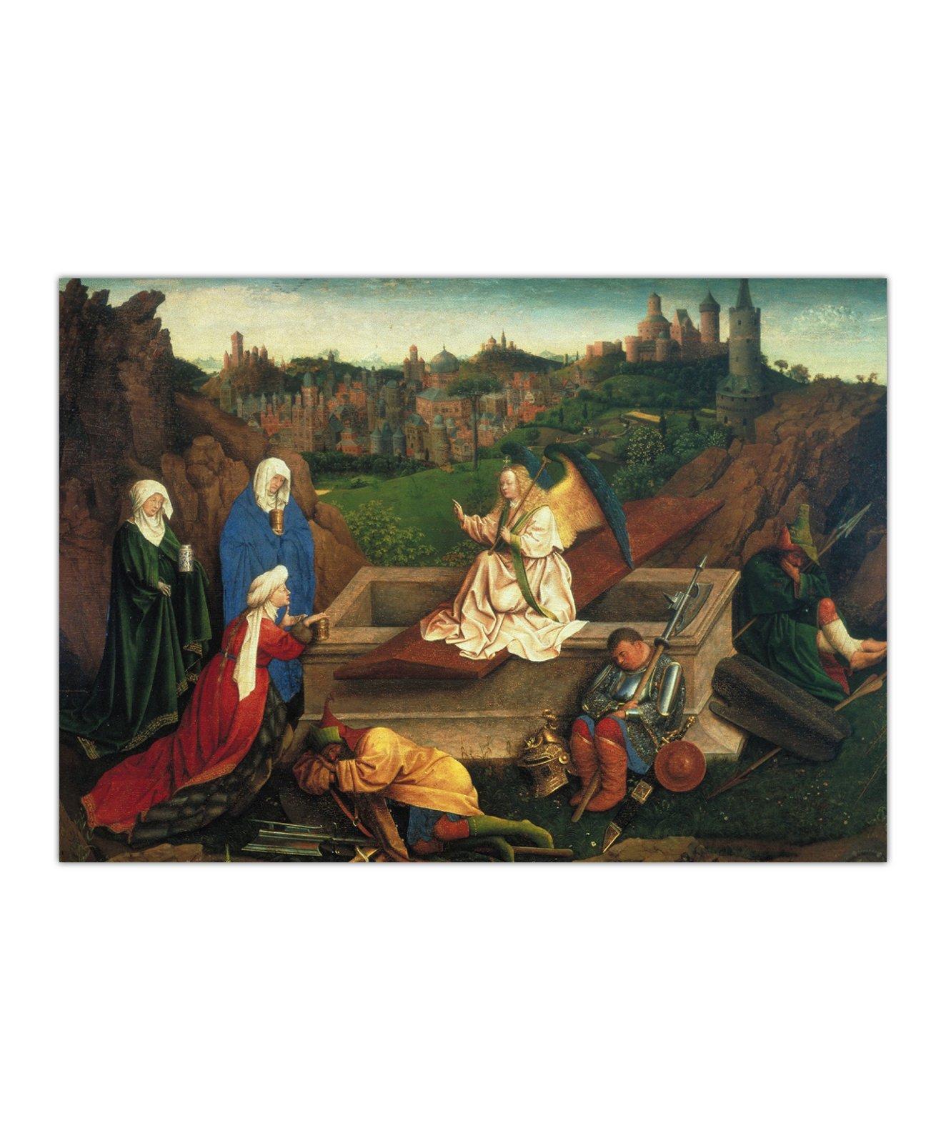Bracia van Eyck, Trzy Marie u Grobu, ok. 1430 2