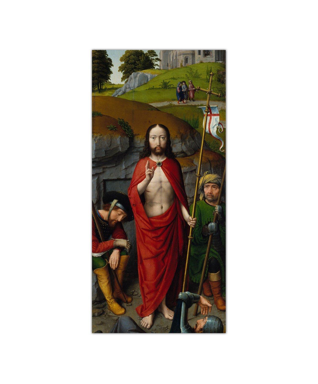 Gerard David, Zmartwychwstanie, ok. 1510 2