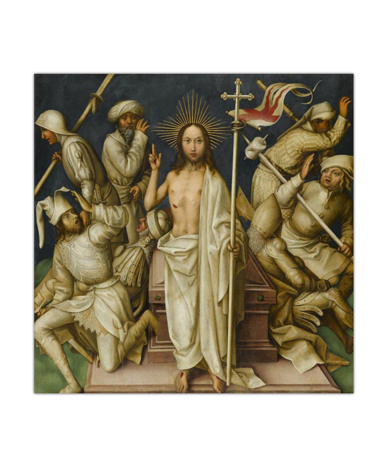 Hans Holbein, Zmartwychwstanie, 1500 2