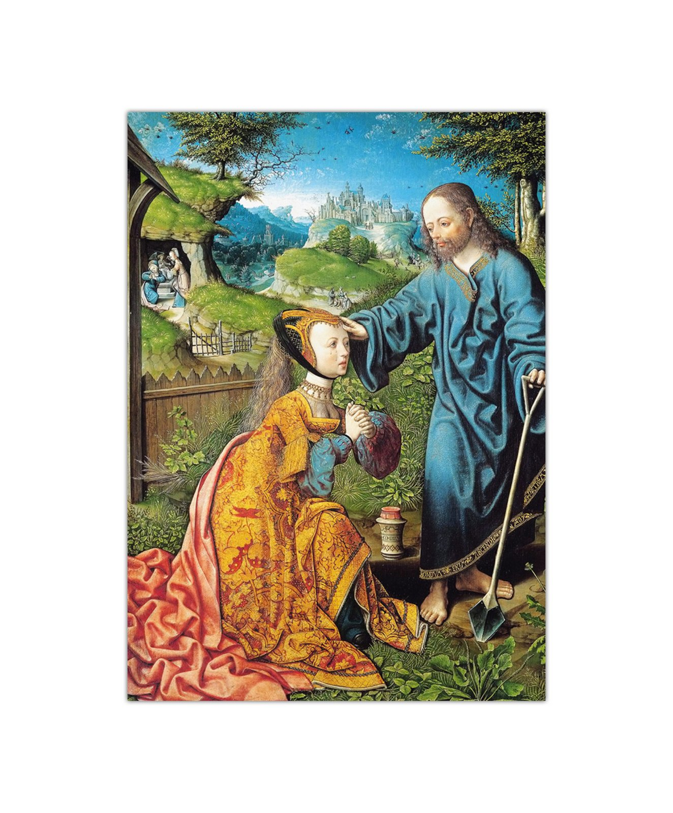 Jacob Cornelisz. van Oostsanen, Noli me tangere, 1507 2