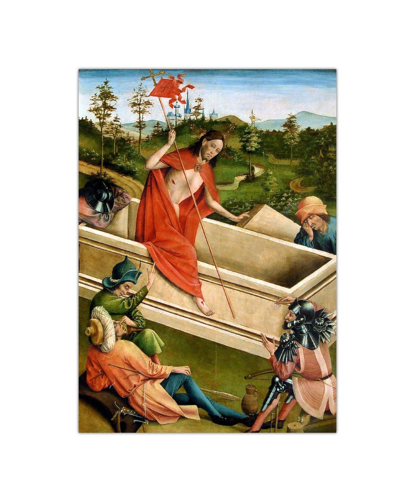 Johann Koerbecke, Zmartwychwstanie, 1457 2