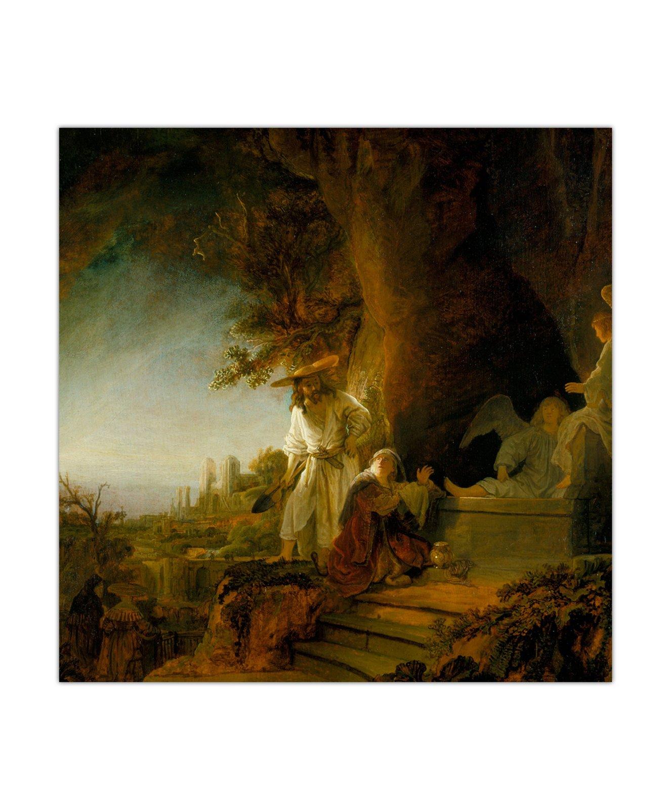 Rembrandt van Rijn, Chrystus i Maria Magdalena u Grobu, 1638 2