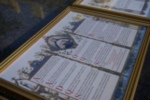 Tablice ołtarzowe przygotowane przez Fundację