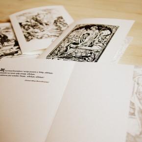 Jeszcze kilka kompletów zeszłorocznych kartek wielkanocnych