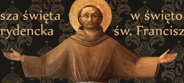 Msza w święto św. Franciszka z Asyżu
